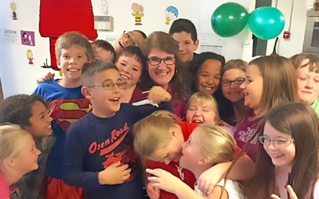 Mrs. Roth – Teacher of the Year Award!