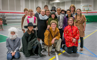 Mrs Roth's Class – Getting Into Character!
